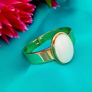 Whiting & David Mother of Pearl Cuff Bracelet